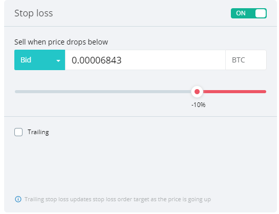Become a better trader by using a Stop loss